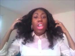 porsha hair product porsha stewart s naked hair install youtube