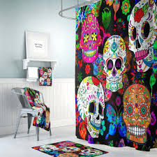 sugar skull bathroom decor – tempus bolognaprozess fuer az