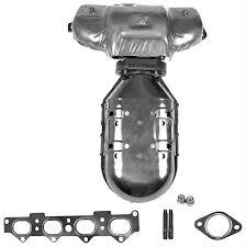 2000 hyundai elantra catalytic converter dorman exhaust manifold cast iron fits hyundai elantra tiburon 2 0