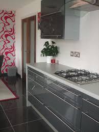 Black Gloss Kitchen Cabinets by Kitchen Doors Wigan U0026 Close Up Of Beech Kitchen