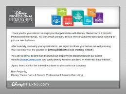 Adding Internship To Resume Resume Tips For Your Disney Application U2013 Disney Internships
