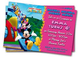Invitation Cards For Birthday Party For Boys Minnie Mouse Birthday Invitations Printable Custom Kids Photo