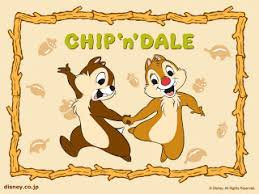 yellow coloring pages chip and dale coloring page