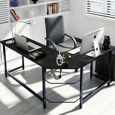 L Shaped Desks For Home 90 L Shaped Corner Computer Desk Home Office Study Laptop Table