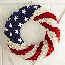 patriotic wood curl 19 wreath pier 1 imports