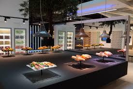 design hotel dã sseldorf philips lighting stand by totems düsseldorf germany retail