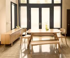 Bamboo Dining Table Set Tentai Eco Friendly Dining Room Furniture Set Haiku Designs