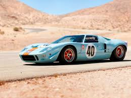 rm sotheby u0027s 1968 ford gt40 gulf mirage lightweight racing car