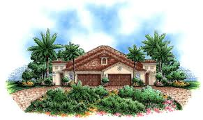 mediterranean house plans home design calista 17748