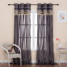 Long Kitchen Curtains by Kitchen Curtain Rail Decorate The House With Beautiful Curtains