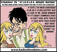 Sunday Bad Date Funnies  Charlie Sheen     Winning at Online Dating     Daily Dating Advice Related posts