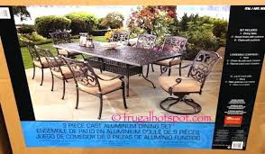 Patio Dining Chairs Clearance Costco Patio Dining Chairs Clearance 9 Cast Aluminum Dining