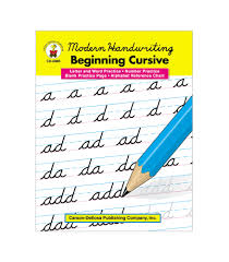 D Nealian Handwriting Worksheets Beginning Cursive Boxfirepress
