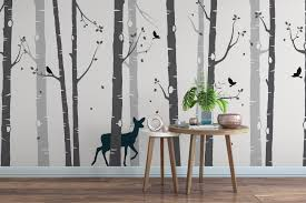 Wall Stickers Trees Tree Wall Stickers 40 Colours Perfect For Any Room
