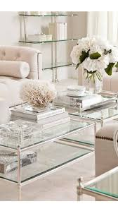 Coffee Table Decorations The 25 Best Glass Coffee Tables Ideas On Pinterest Tree Stump