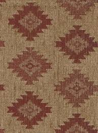 Maroon Upholstery Fabric Multi Colored Weaved Pattern Upholstery Fabric