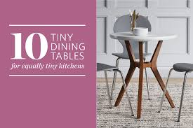 Tiny Dining Tables 10 Inexpensive Dining Tables For Small Kitchens Kitchn