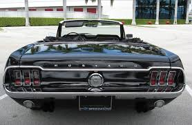 1968 ford mustang black black 1968 ford mustang convertible mustangattitude com