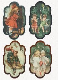 digital printables free vintage christmas gift tags victorian