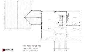 pool house floor plans the pool house second floor plan pool house