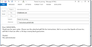 mail merge from excel mail merge to email using an outlook macro