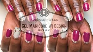 natural gel manicure using canni gels youtube