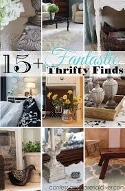 my home furniture and decor my thrifty decor 15 fantastic thrifty finds confessions of a