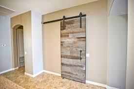 Reclaimed Barn Door Hardware by Barn Wood Sliding Door Reclaimed Barn Wood Sliding Track Door For
