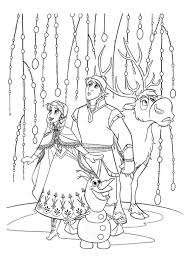 frozen coloring pages free print coloringstar
