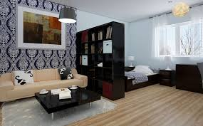 One Bedroom Interior Design Ideas Modern Interior Design Ideas Studio Apartment One Room Designs And