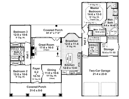 3 Bedroom 2 Bath Bungalow by Bungalow Style House Plans 1800 Square Foot Home 1 Story 3