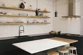 cuisine marbre blanc cuisine moderne granit noir et marbre blanc