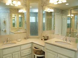 Design For Corner Bathroom Vanities Ideas Gorgeous Corner Vanity Cabinet Bathroom Traditional With Bath On