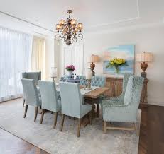new york dining room chandeliers scandinavian with white chairs