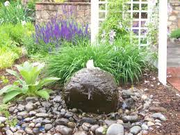 Rock Water Features For The Garden Water Gardens Landscape