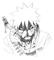 quick sketch naruto angry by the pooper on deviantart