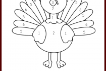 free printable thanksgiving placemats to color www kanjireactor