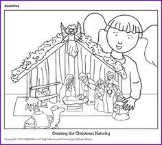 angel message christmas activity kids korner biblewise