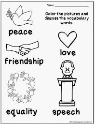 Honoring Martin Luther King Jr And A Freebie The Dr Martin Luther King Jr Coloring Pages