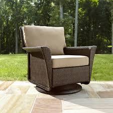 ty pennington style parkside swivel outdoor chair in tan sears