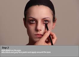 zombie cinderella tutorial face make up