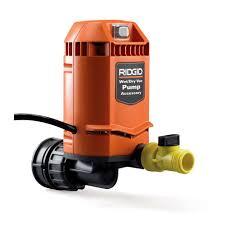 ridgid quick connect pump accessory for ridgid wet dry vacs vp2000