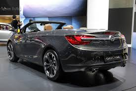 opel cascada 2013 opel cascada rear view auto top cars
