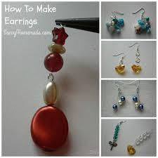 home made earrings discover how to make earrings inexpensively