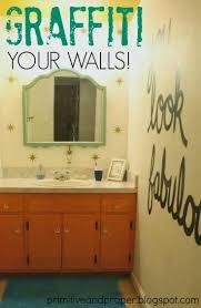 pretty diy home decor ideas featuring you graffiti your walls pretty diy home decor idea