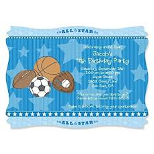 all star sports birthday party theme bigdotofhappiness com