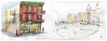 sketch swap montreal u2013 girona and then some urban sketchers