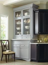 corina maple kitchen shown in graphite and niagara by