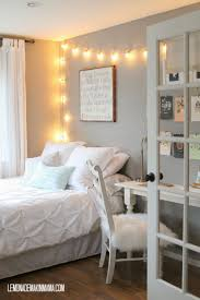 how to hang string lights in bedroom with break all the rules and
