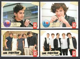 one direction cards 2013 one direction trading cards complete set of